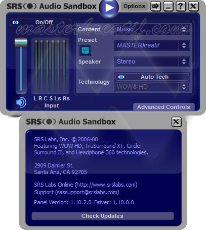 Srs Audio Device Скачать Драйвер - фото 7
