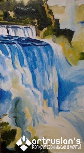 Водопад Интернет-галерея «ArtRuslan`s» Копируя свои мысли и мечты! artruslans.com