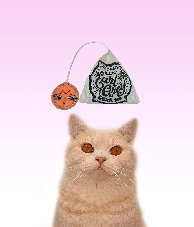 Freak Meowt, Handmade Unique Canadian Catnip Tea Bag cool