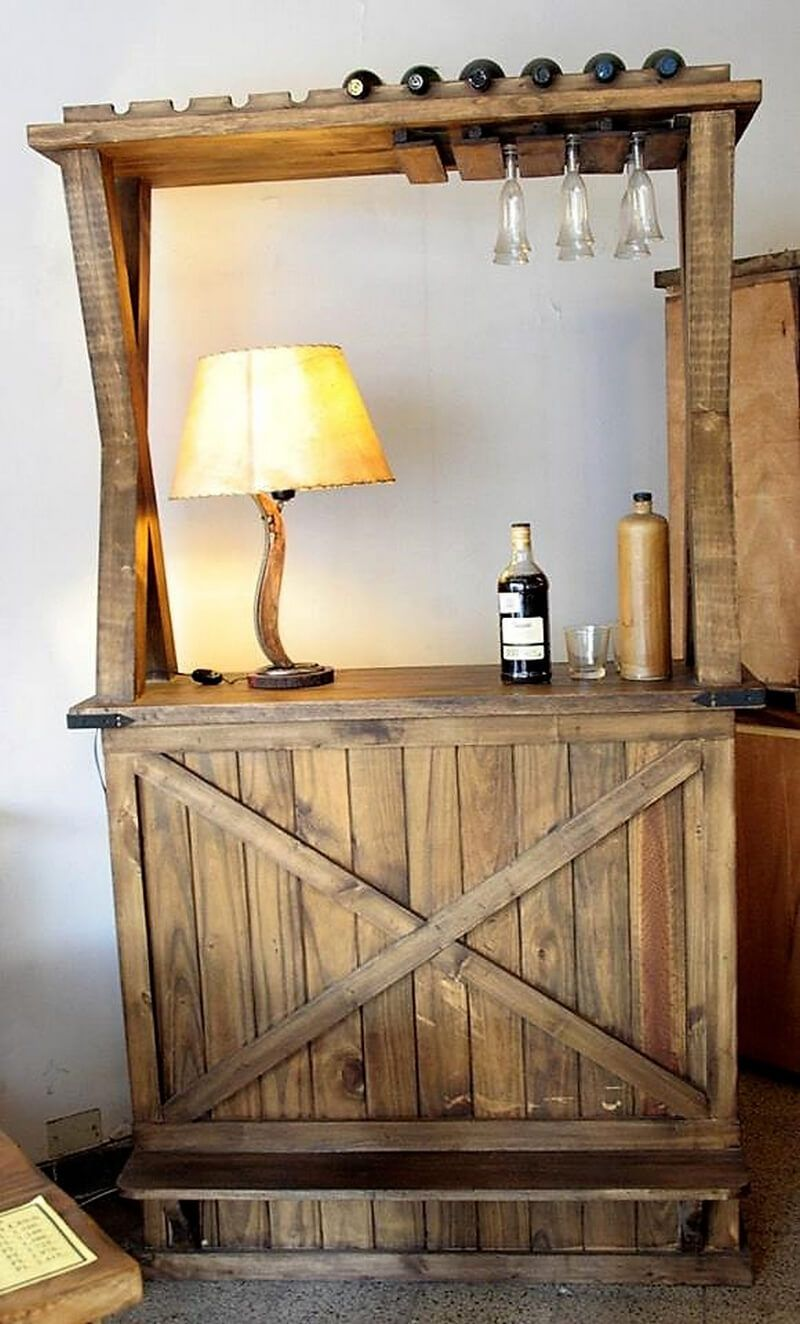 Do It Yourself Outdoor Bar: Pallet Ideas You Can Do IT Yourself Easily