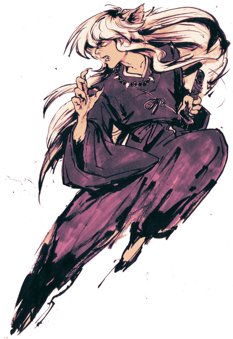 been reading inuyasha all day…what can i say i love