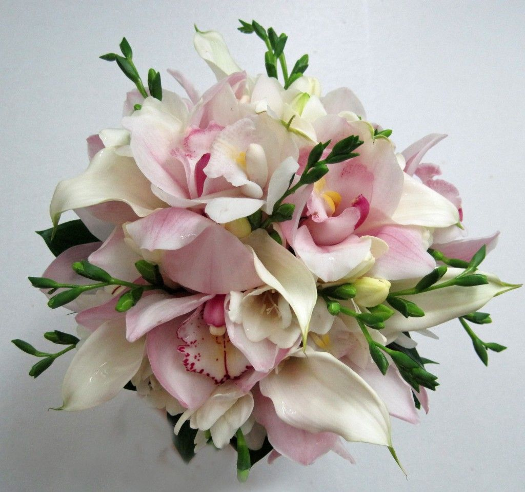 Orchid and freesia bouquets cymbidium call and freesia bouquet orchid and freesia bouquets cymbidium call and freesia bouquet izmirmasajfo Gallery