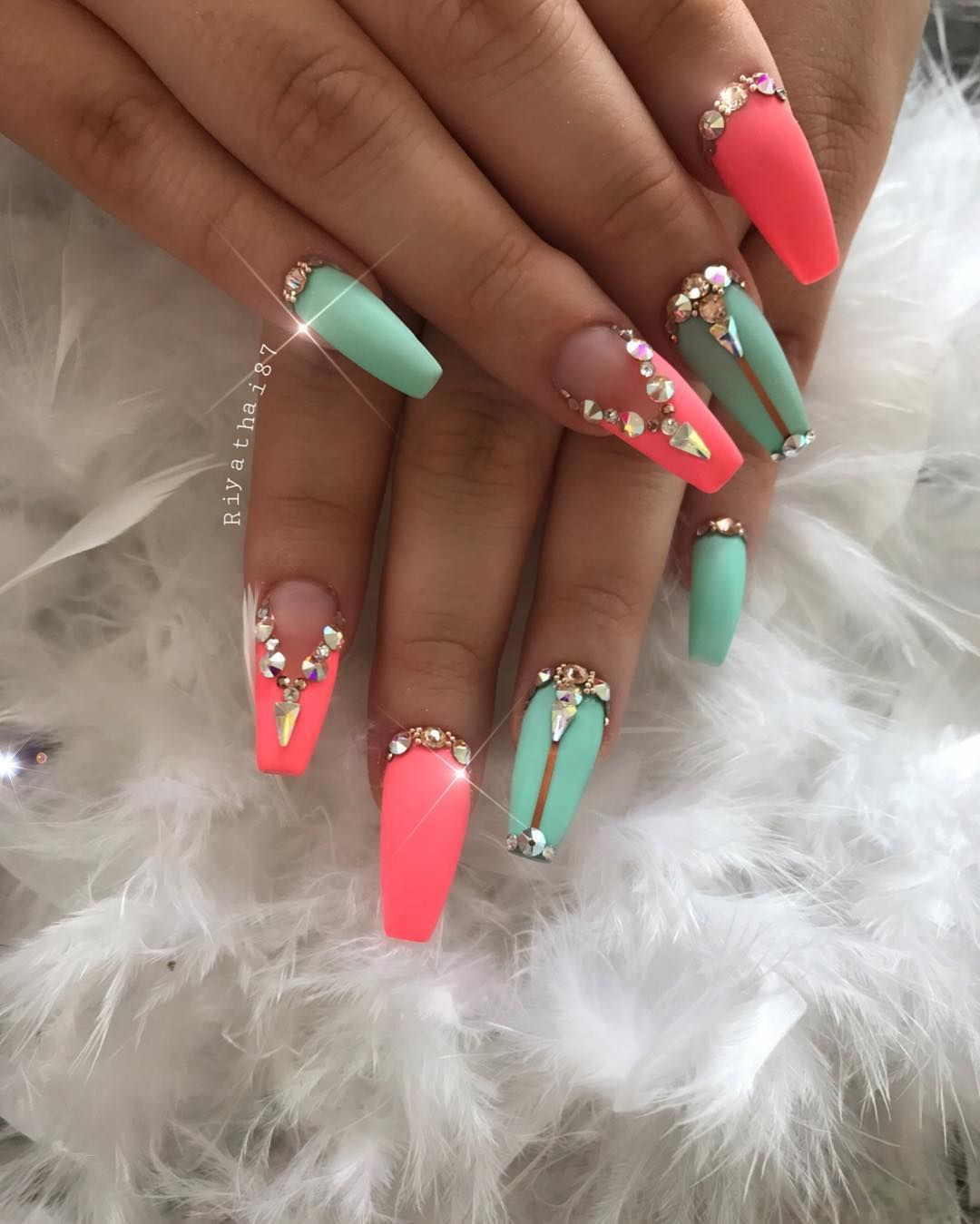 Nail Art Designs Jewels Hession Hairdressing
