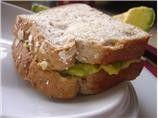Avocado Sandwich - Explains itself :)