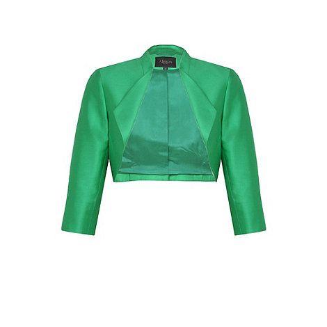 Lovely green Alexon bolero
