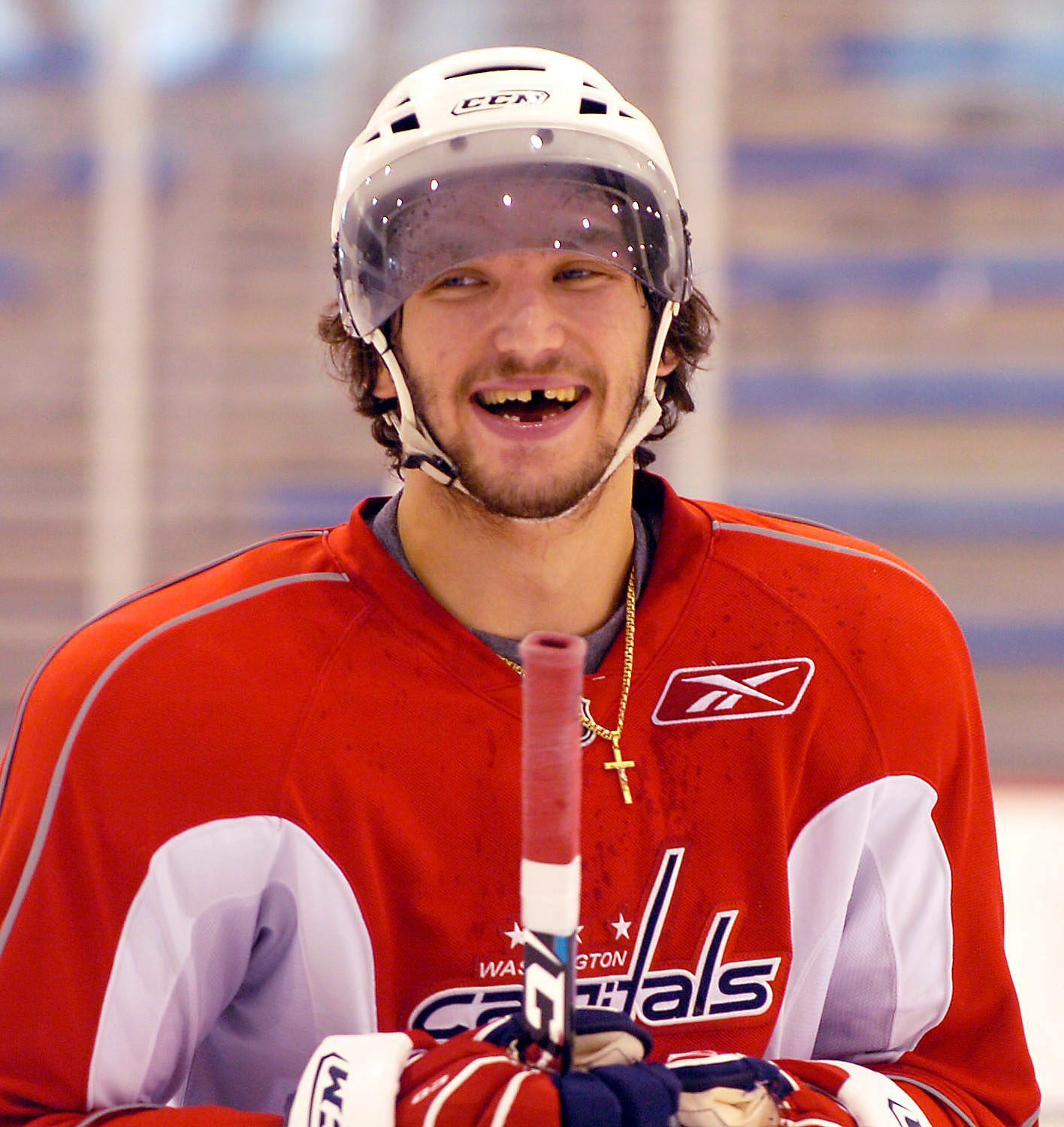 What Does Alex Ovechkin Look Like Minus 3 More Of His Teeth Alex Ovechkin Nhl Players Alexander Ovechkin