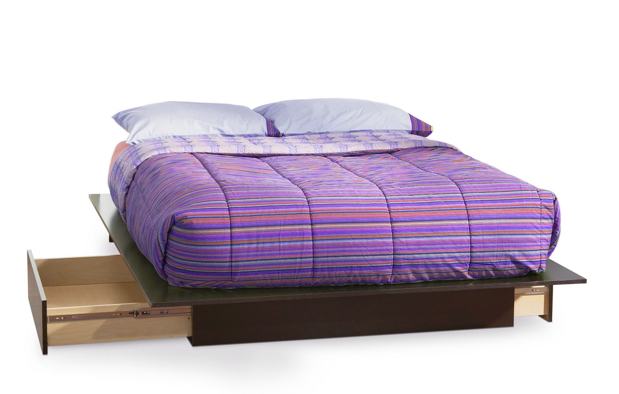 South Shore Step One Full/Queen Storage Platform Bed