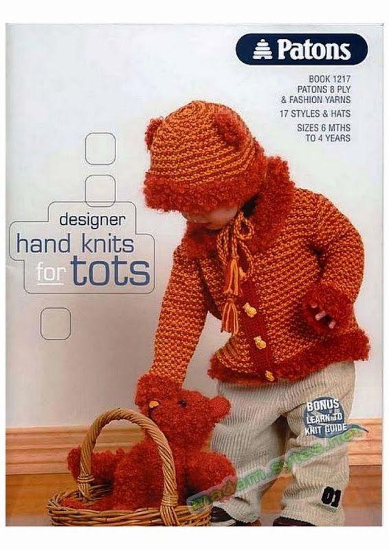 Patons 1217 – Designer Hand Knits for Tots | Paracaidas | Pinterest ...