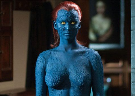 Jennifer Lawrence X Men Days Of Future Past Costume Interview Days Of Future Past X Men Jennifer Lawrence Mystique