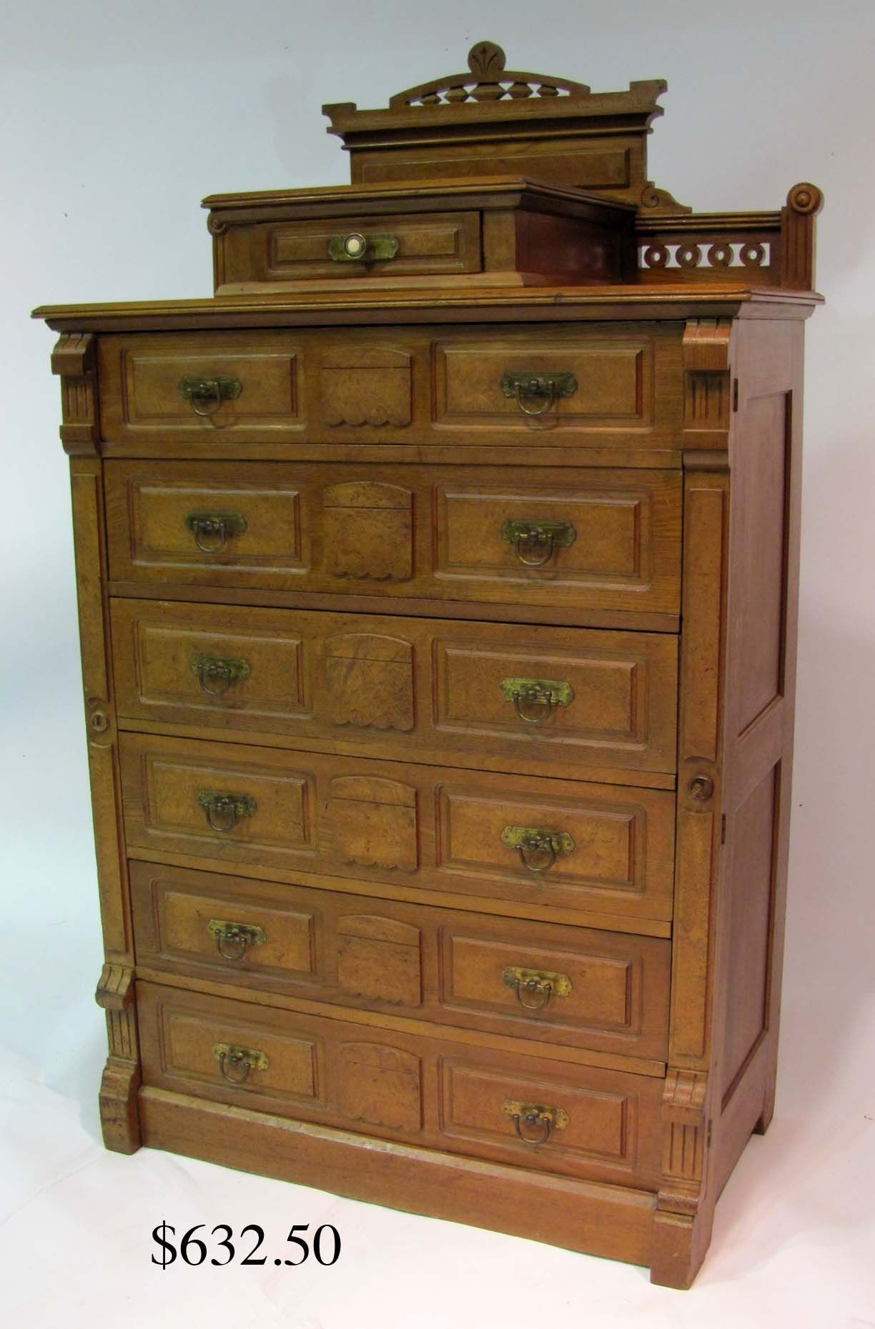 Side Locking Chest Of Drawers