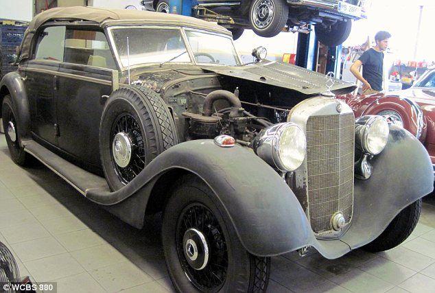 Adolf Hitler S 1942 Mercedes 320 Cabriolet D Convertible