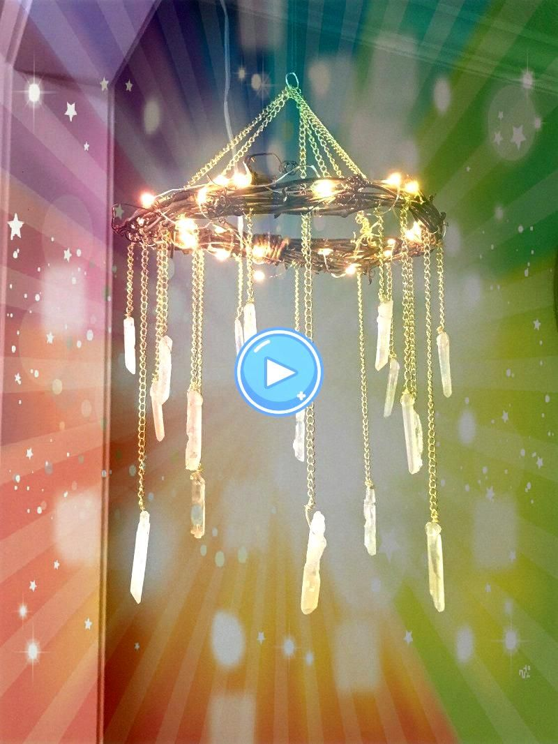 Crystal and Stones Decorating Ideas for a Touch of Glamour Design9 Crystal and Stones Decorating Ideas for a Touch of Glamour Design Custom silverware chandelier by Jesse...