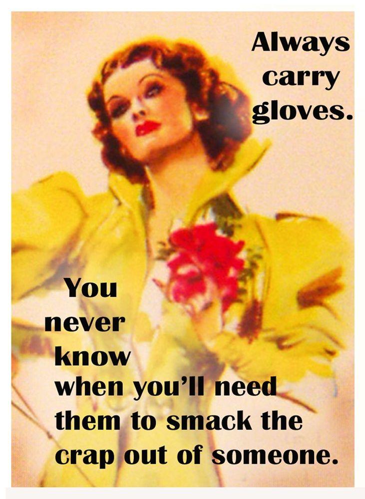 funny retro ads funny card by Paula Guhin. Vintage