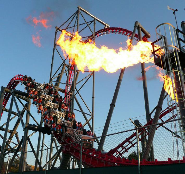 X2 No Six Flags Magic Mountain Na California California Sixflags Cartaogolosangeles Parqueseingressos Roller Coaster Top 10 Roller Coasters Amusement Park