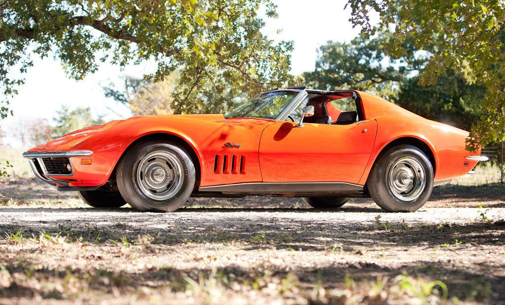 Classic muscle cars Chevrolet Corvette Stringray Coupe - http ...
