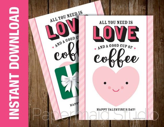 printable teacher valentine's day card  valentine card
