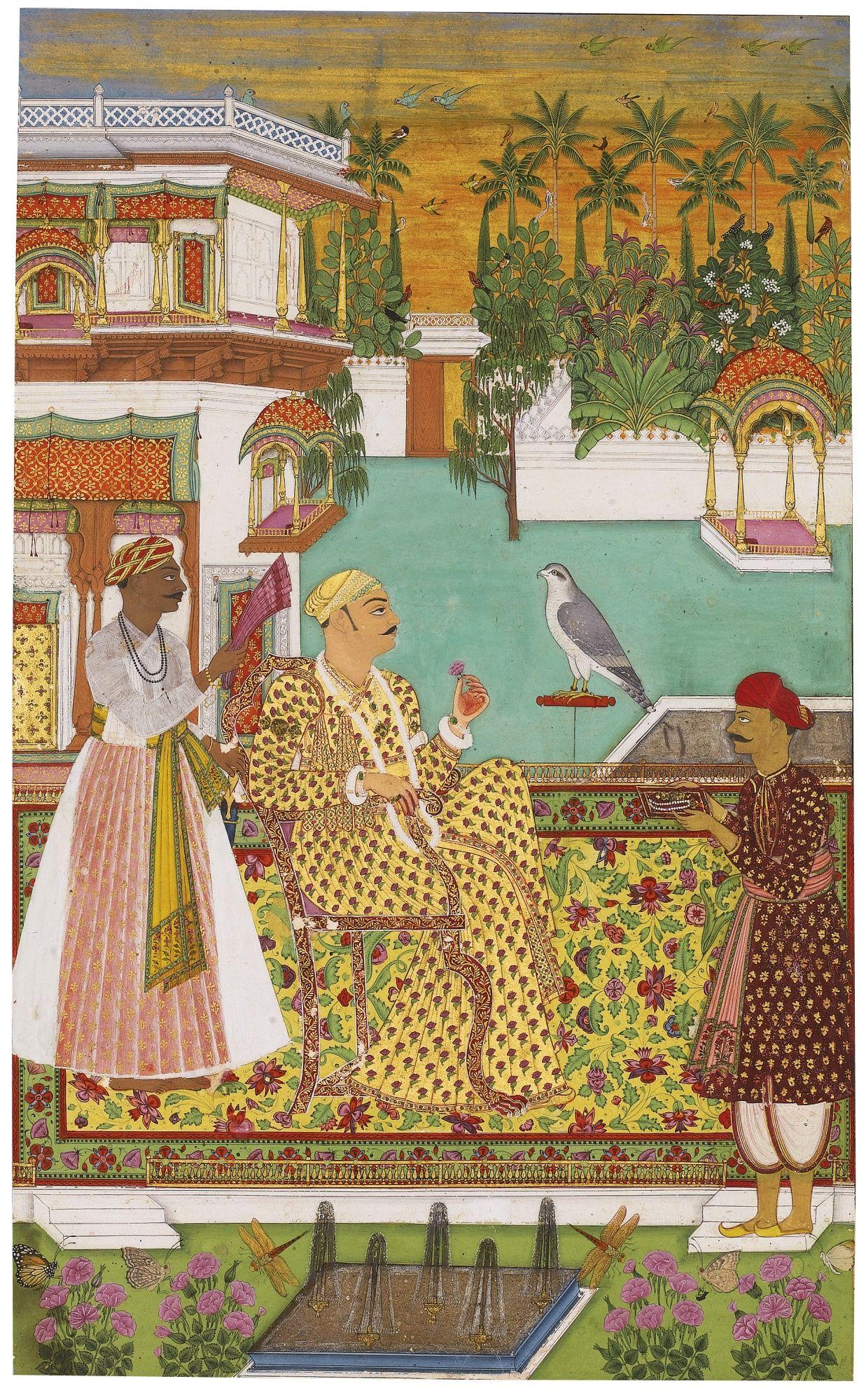 Saif Al Mulk The Only Son Of Aristu Jah Azim Ul Omrah D 1804