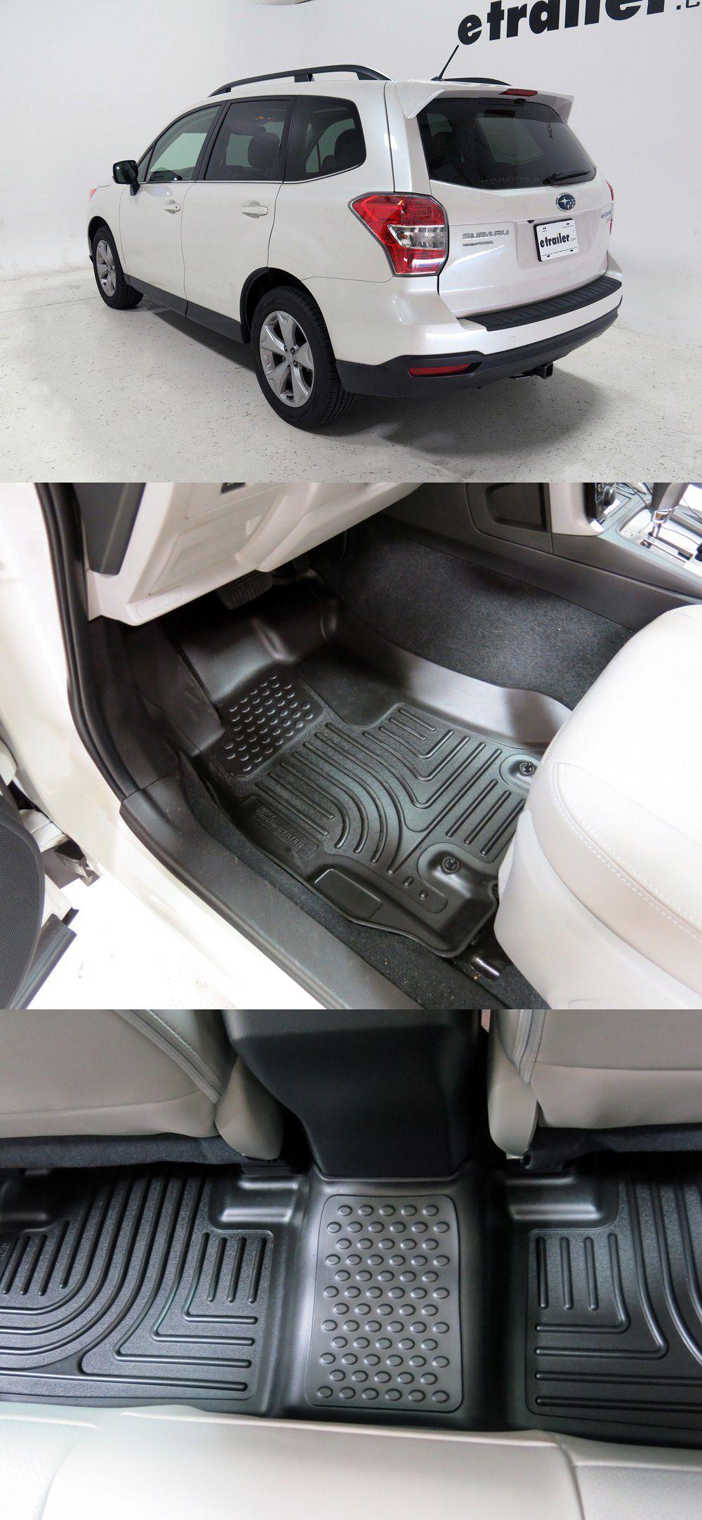2015 Subaru Forester Floor Mats Husky Liners Subaru Forester Subaru Accessories Husky Liners