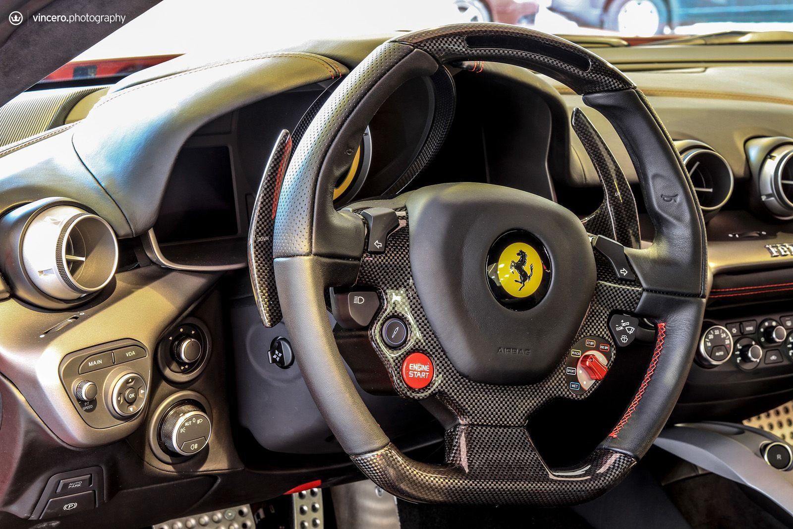 Inside Of Ferrari F12 Berlinetta Ferrari F12 Ferrari