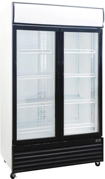 2 Door Upright Display Cooler Commercial Refrigerators Beverage Refrigerator Display Refrigerator