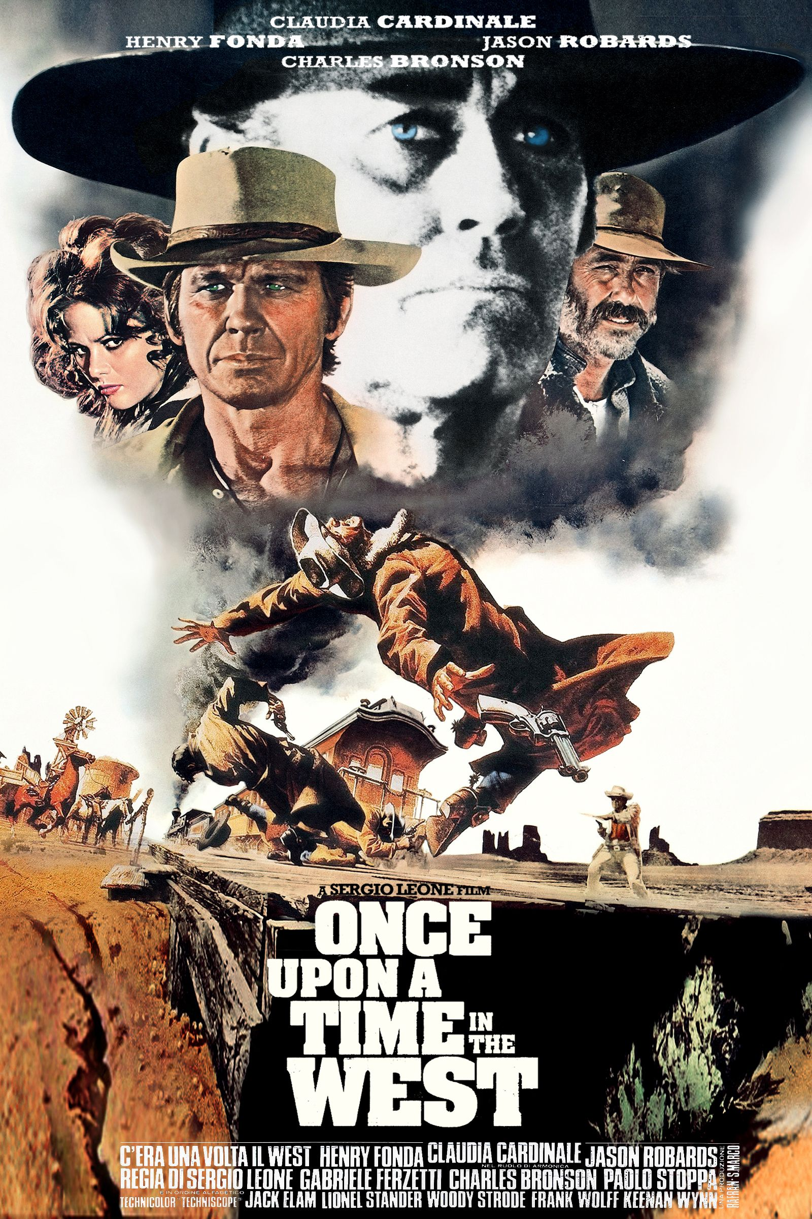 Risultati immagini per ONCE UPON A TIME IN THE WEST ( 1968 ) POSTER