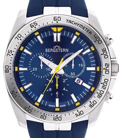 BERGSTERN - Navy Chronograph
