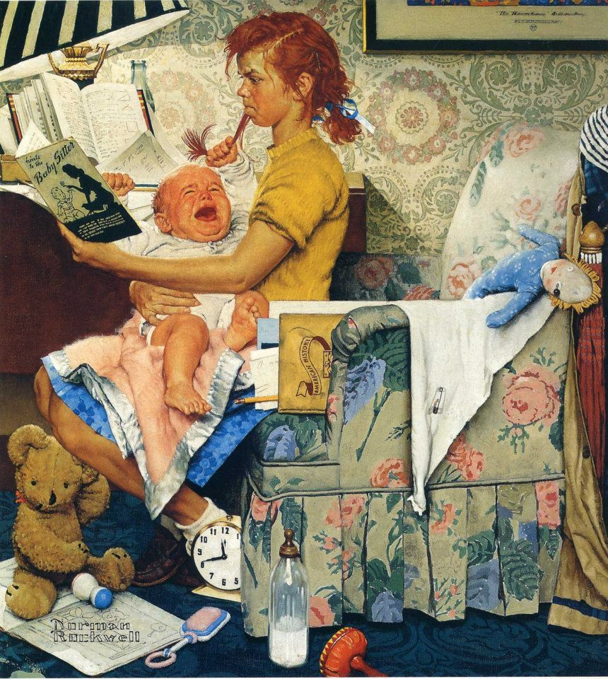 Pin on Norman Rockwell Paintings