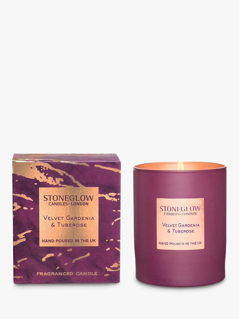 Stoneglow Luna Velvet Gardenia Tuberose Scented Candle 220g
