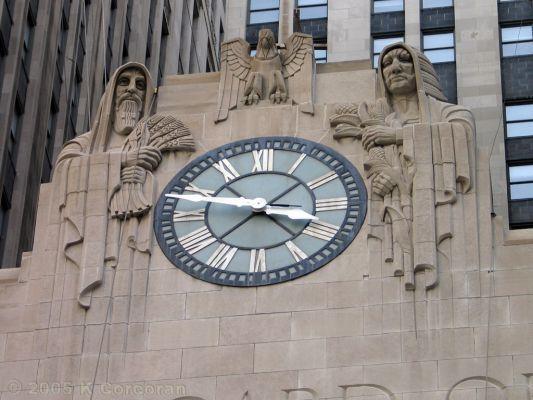 LaSalle Street clock