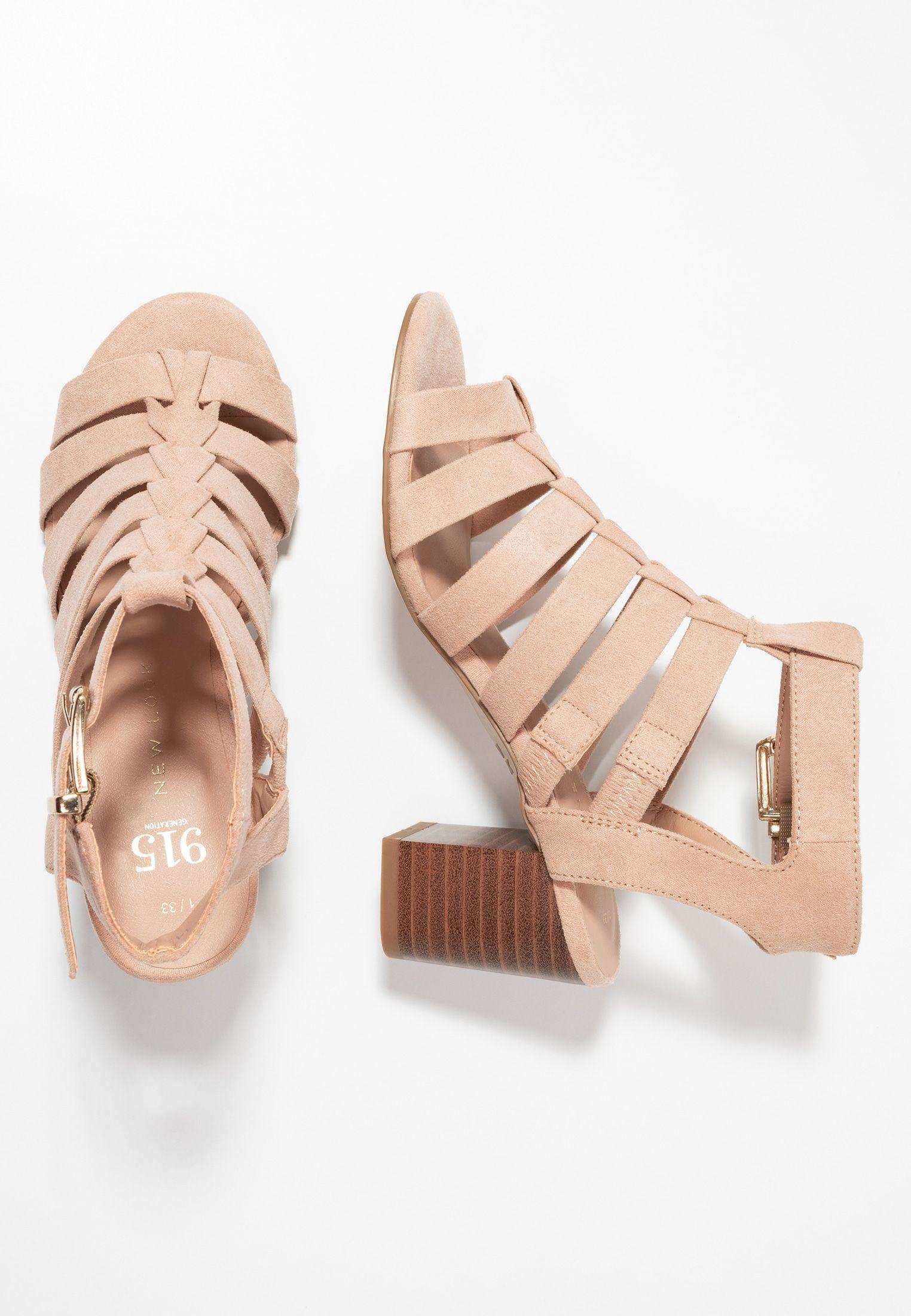 24b9603c1e New Look 915 Generation OLIVIA - Strappy Sandals - oatmeal - Zalando.de