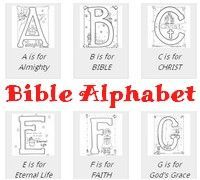 Free***Bible Based Alphabet Coloring Pages | Pinterest | Free bible ...