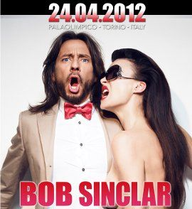 Bob Sinclar is waiting for you @ Palaolimpico! SaveTheDate: April 24th....