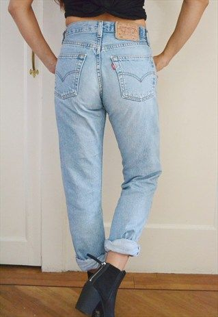 Levi's high waisted jeans | Skirt pants, Clothes and Fashion