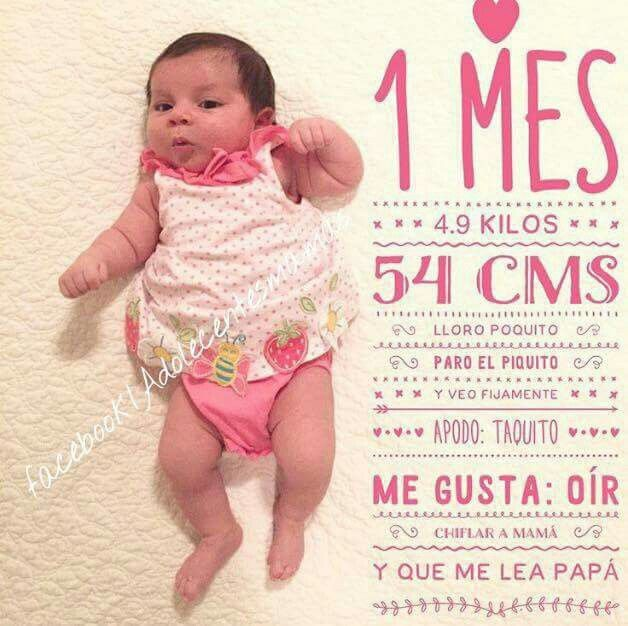 Bebe mes a mes | Bebe | Pinterest | Baby photos, Baby y Photography