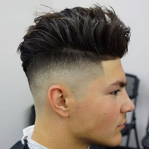 Undercut fade razor fade undercut and undercut hairstyle razor faded undercut shape up thick brushed up hair urmus Choice Image