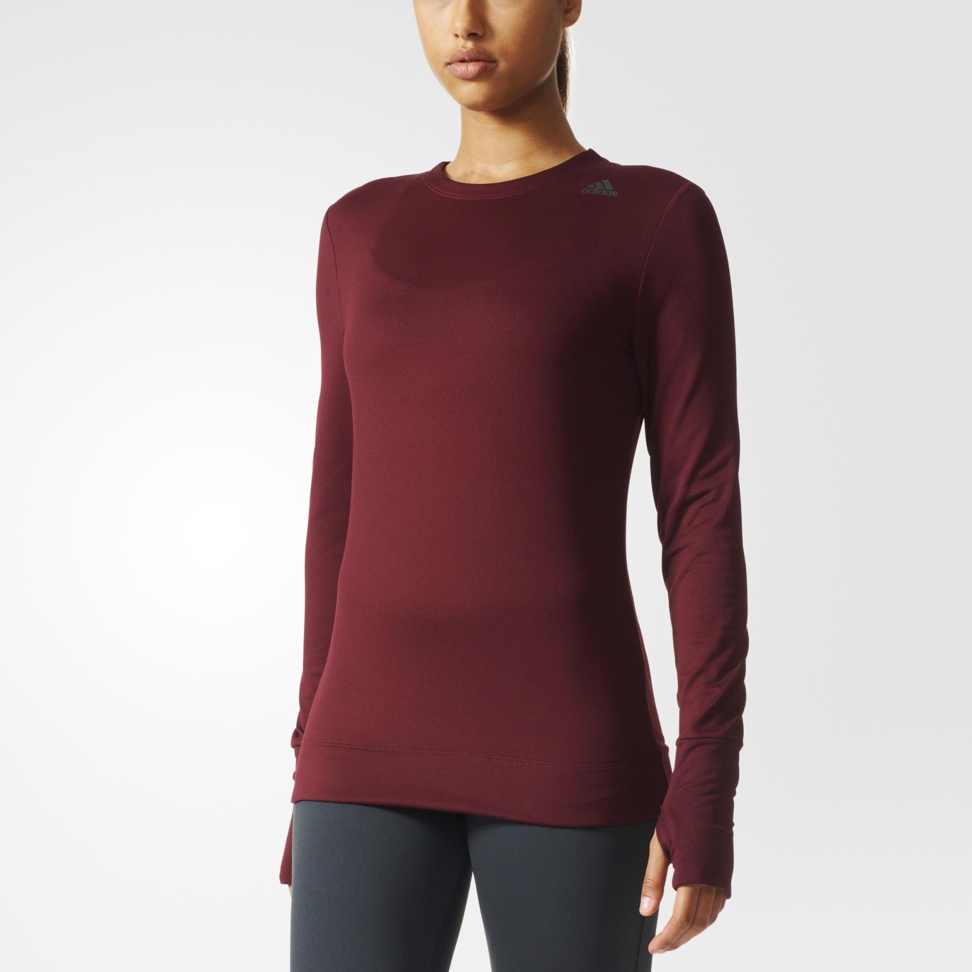 Women Red Shirts Climaheat