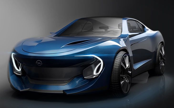 Opel Manta Concept Is Reviving The Famous European Muscle Car The