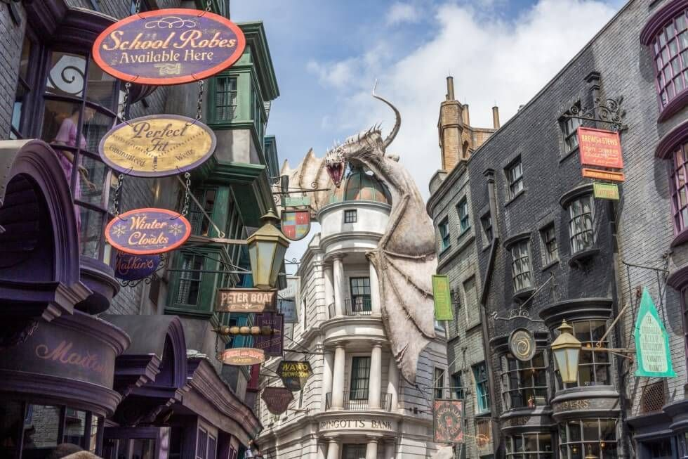 What To See At Harry Potter World Diagon Alley Universal Studio Florida Diagon Alley Universal Studios Diagon Alley Universal Universal Studios Florida