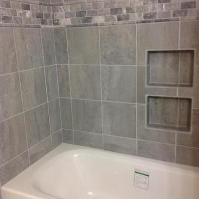 Shop Style Selections Skyros Gray Porcelain Floor Tile Common 12 In X 12 In Actual Gray Shower Tile Grey Bathroom Tiles Tile Bathroom