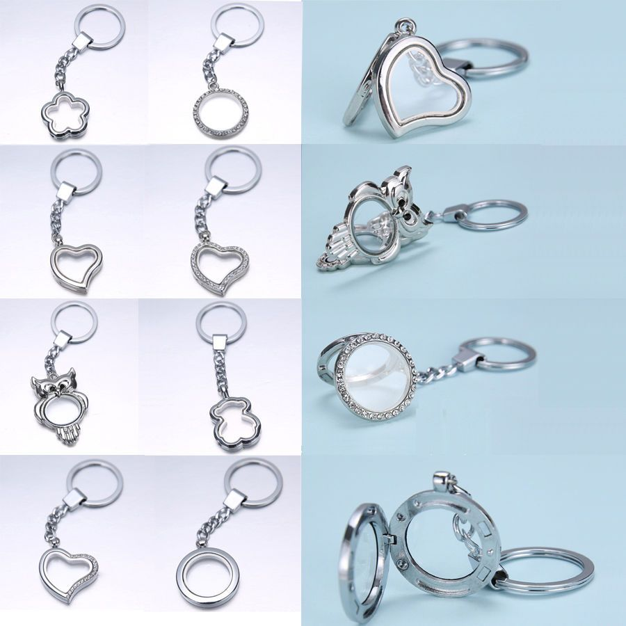 with legenstar in from pads locket print chain lockets clasp stainless aroma key chains jewelry diffuser lobster steel perfume item keychain paw