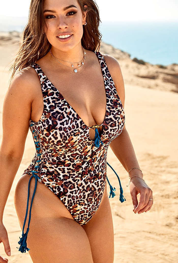 c43cfe853 Ashley Graham x Swimsuits For All Tangier Genet Swimsuit | Swimsuits For All