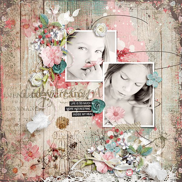 gingerscraps templates one page templates arty inspiration