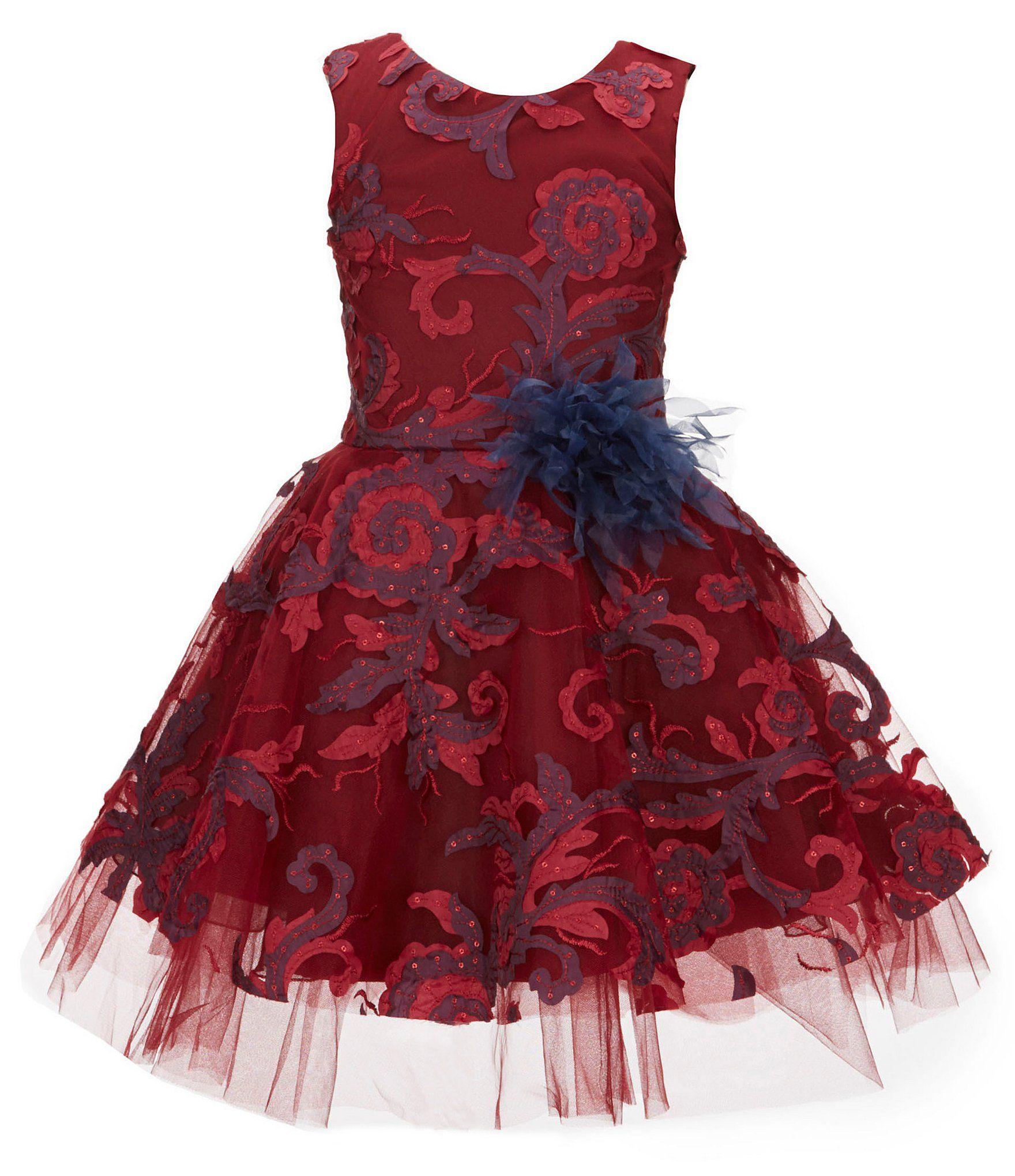 242a3af4c68 Zoe Big Girls 716 Ava Masquerade Ball Swirl Dress  Dillards