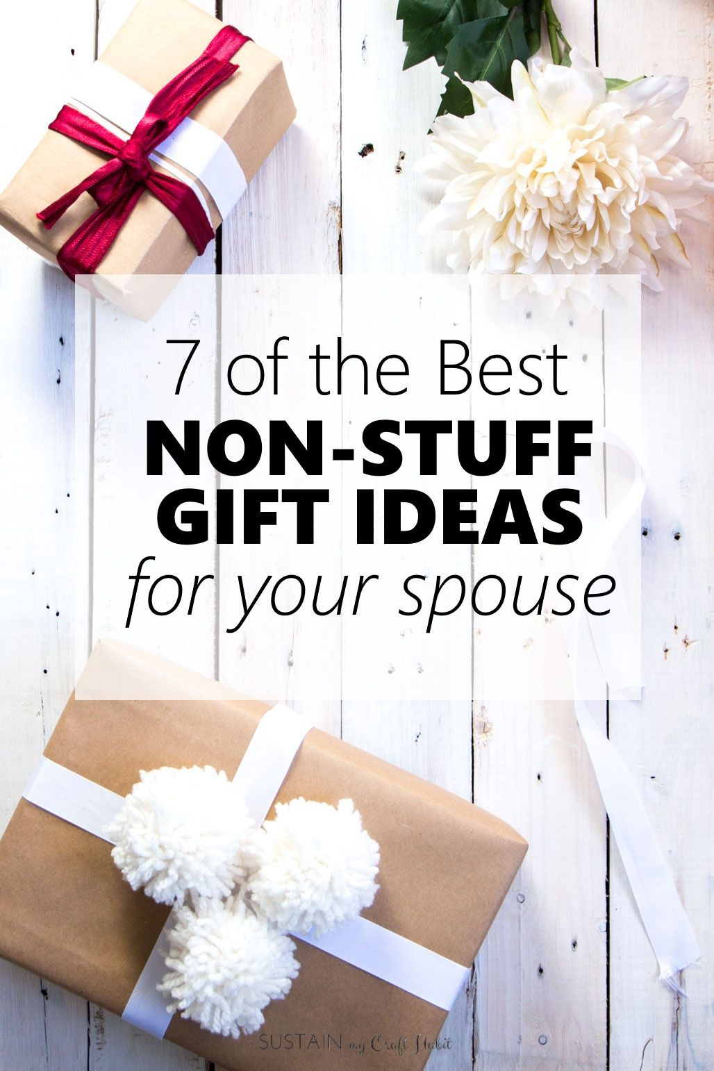 7 of the Best Non-Stuff Gift Ideas for your Spouse ...