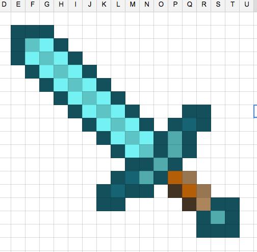 Google Sheets Create Pixel Art Pixel Art Pixel Art Tutorial Teaching Art