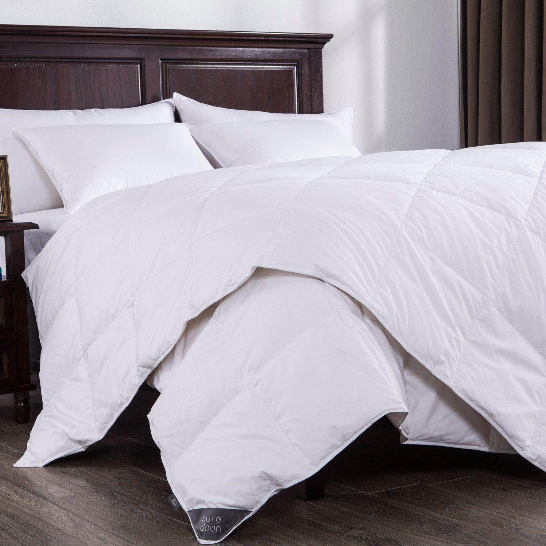 Puredown Lightweight Down Comforter White Down Comforter
