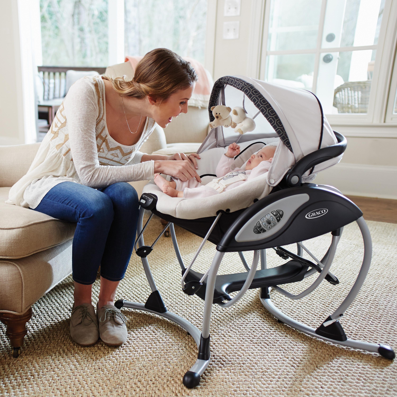 Amazon Graco Glider Elite Baby Swing Pierce Baby and