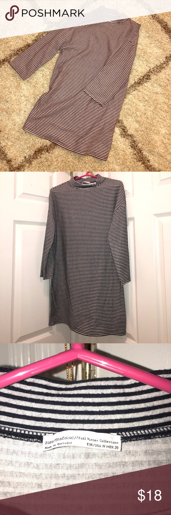 d4cff4001a06 Zara Tunic This Medium Zara Tunic Dress was part of their Fall Winter  collection and