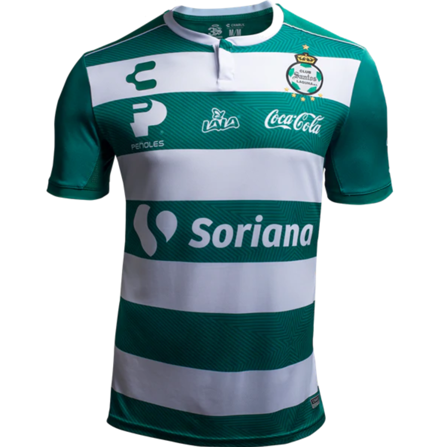 04c117bd9 Mexico Club Santos Laguna 18 19 Home Men Soccer Jersey Personalized Name  and Number