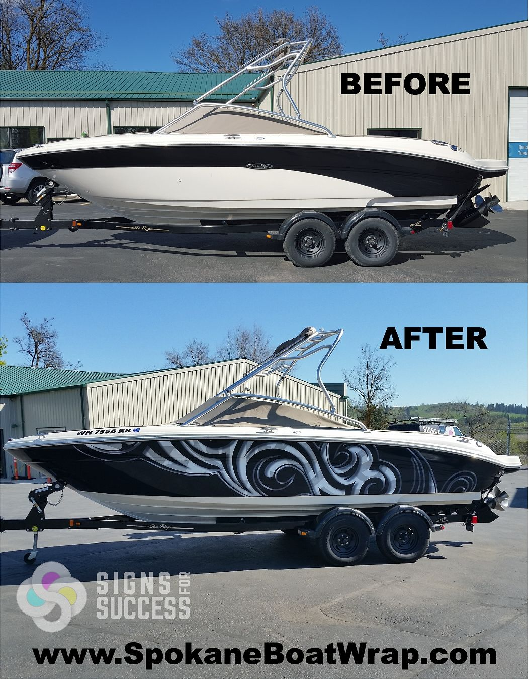 Sea Ray Custom Vinyl Wrap Boat Wraps Custom Vinyl Pinterest - Sporting boat decalsbest boat wraps custom vinyl images on pinterest boat wraps